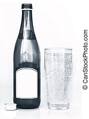 carbonated, bebida