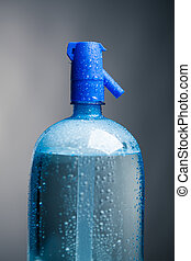 carbonated drink water in a bottle