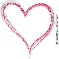 carboncillo, corazón