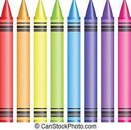 carboncillos, vector, ilustración