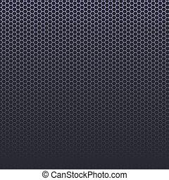 carbone, fibre, ou, arrière-plan.