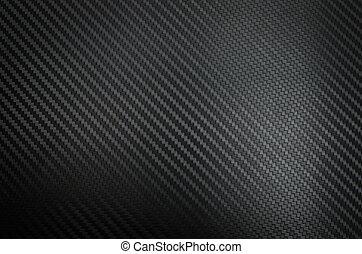 carbone, fibre, texture