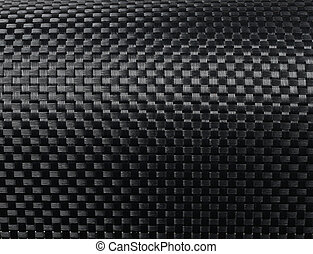 carbone, tissé, fibre