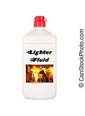 carbonella, accendino, fluido