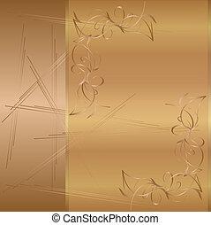 carbonella, oro, coperchio, libro, gotico, lusso