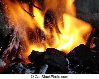 carboni, urente
