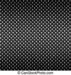 carbonio, fibra, fibra, struttura