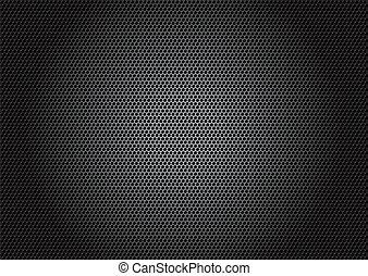 carbonio, fibra, materiale, -, vettore