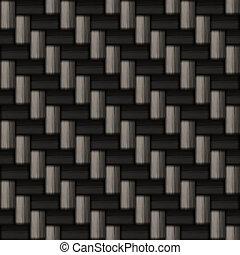 carbonio, fibra, modello