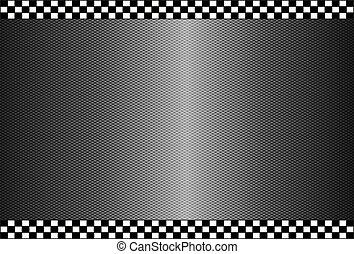 carbonio, fibra, sfondo nero