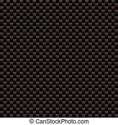 carbono, fibra, tecido, textura