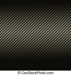 carbono, fibra, textura