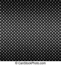 carbono, fibra, textura, fibra