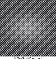 carbono, fibra, textura, fundo, tecer
