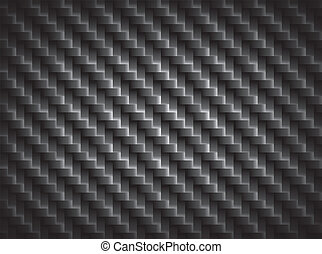 carbono, fibra, textura, limite, crosswise, fibras, fundo,...