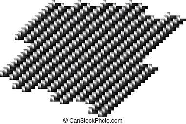 carbono, pattern.