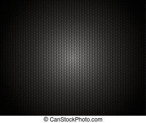 carbono, pretas, textura, fundo