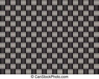 carbono, textura, padrão