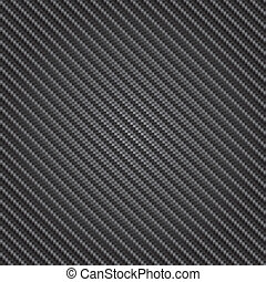 carbono, vetorial, textura, fibra