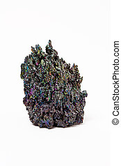 carborundum abstract - A lump of carborundum or silicon...