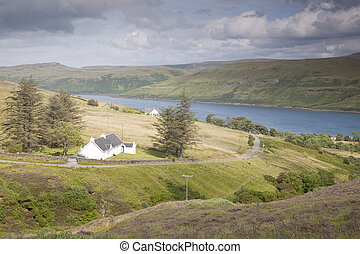 Carbost; Isle of Skye; Scotland; UK