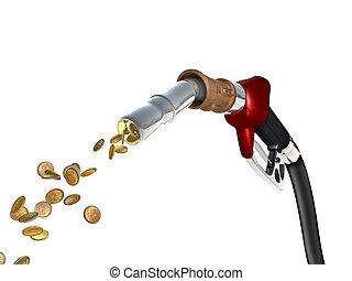 carburante, costo