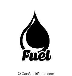 carburante, icona