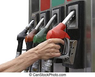 carburante, nuovo, 5