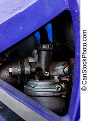 Carburettor of motorcycle