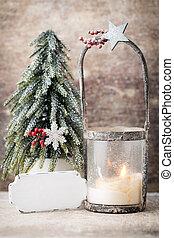 card., διακόσμηση , candlestick., lantern., χαιρετισμός , cristmas, xριστούγεννα