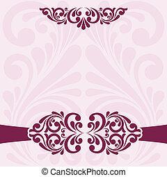 card., הזמנה
