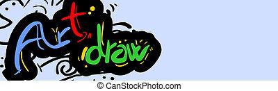 Card art draw