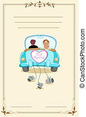 card, bryllup
