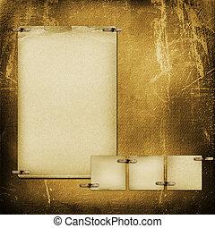 card, by, invitation, eller, lykønskning, ind, scrapbooking,...
