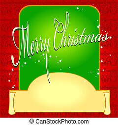 card christmas, invitation