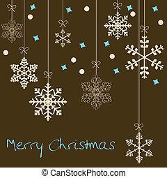 card christmas, sneflager