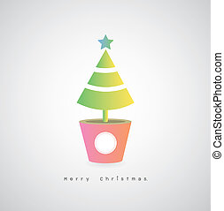 card christmas tree