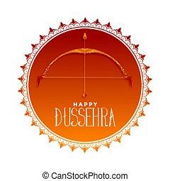 card, dussehra, firmanavnet, festival, hindu, kunstneriske