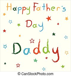 Card for Happy Father's Day