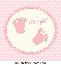 Card for newborn