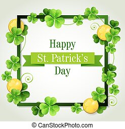 Card for St. Patrick's Day