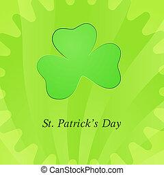 Card for St. Patricks day