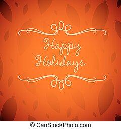 card, format., vektor, jul, merry