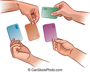 Card in the hand
