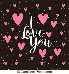 card of i love you
