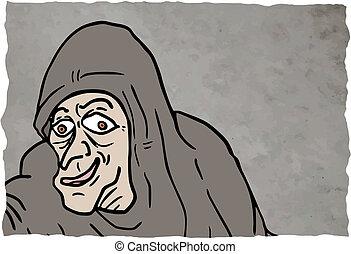 Card old man - Creative design of card old man