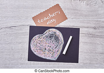 Card on Teacher's Day.