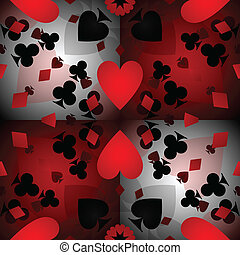 Card pattern background - Abstract kalidescope background of...
