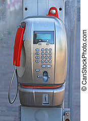 Card Payphone - Modern Public Payphone Calling Card in Italy