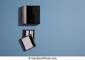 card reader and two cards